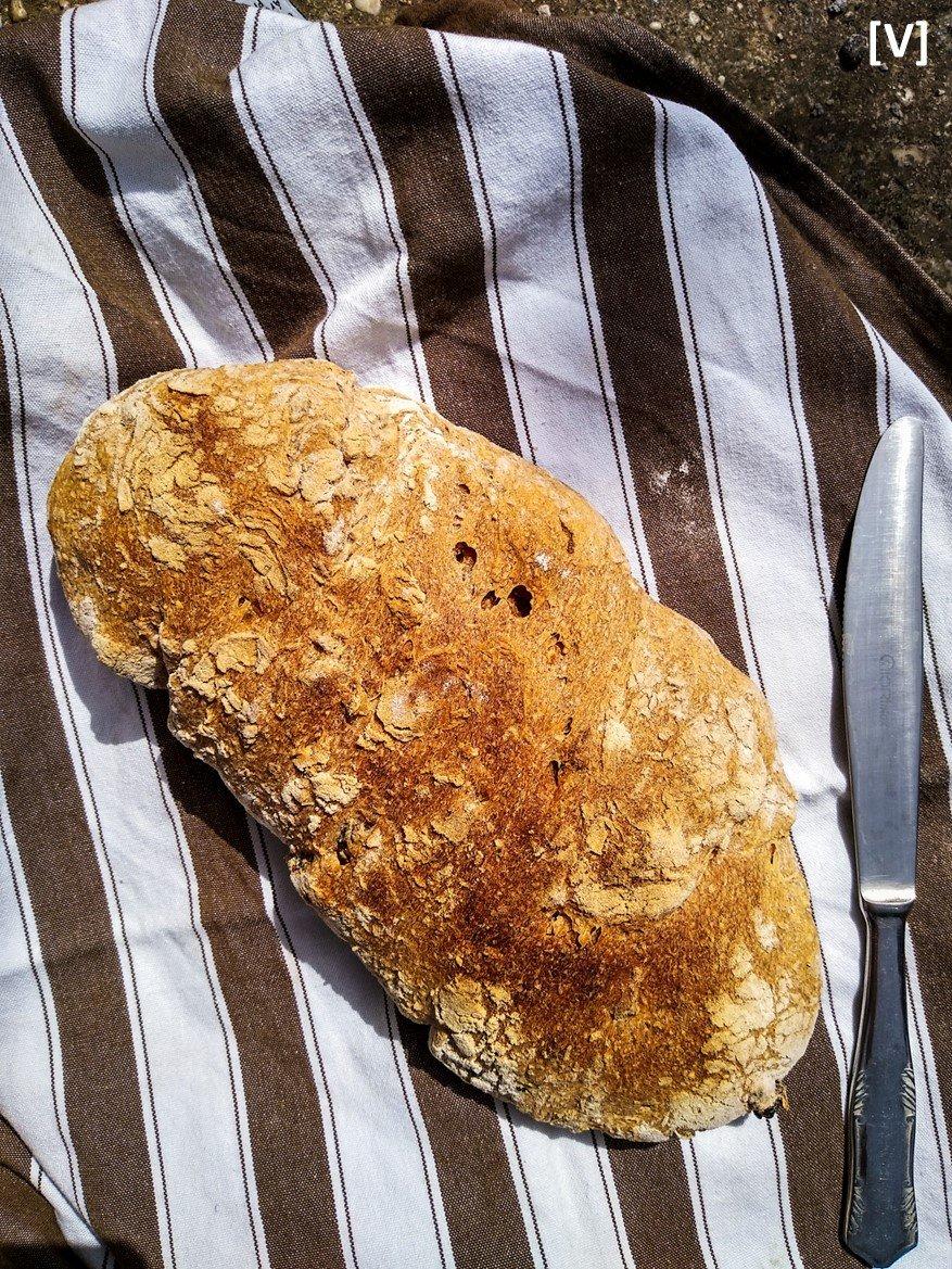 Mediterrán kenyér teljes kiőrlésű lisztből - v e k k e r